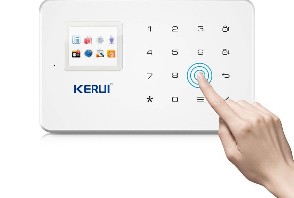 L'alarme Kerui G18, une solution pas cher