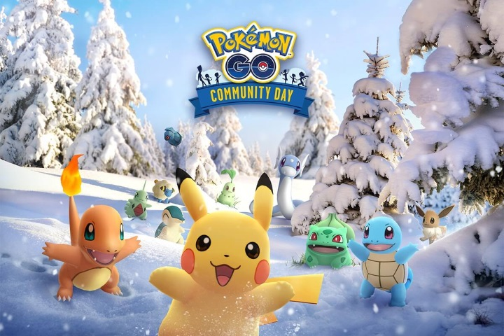 Pokemon Go : Le Community Day de décembre arrive !