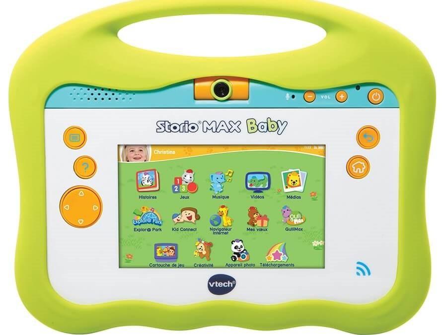 La Storio Max Baby de chez Vtech